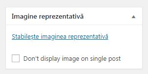 imagine reprezentaiva wordpress