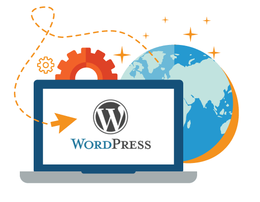 realizare site web wordpress